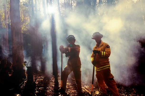firefighters for BN-