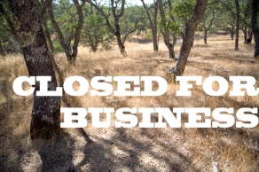 Nature Closed for Business