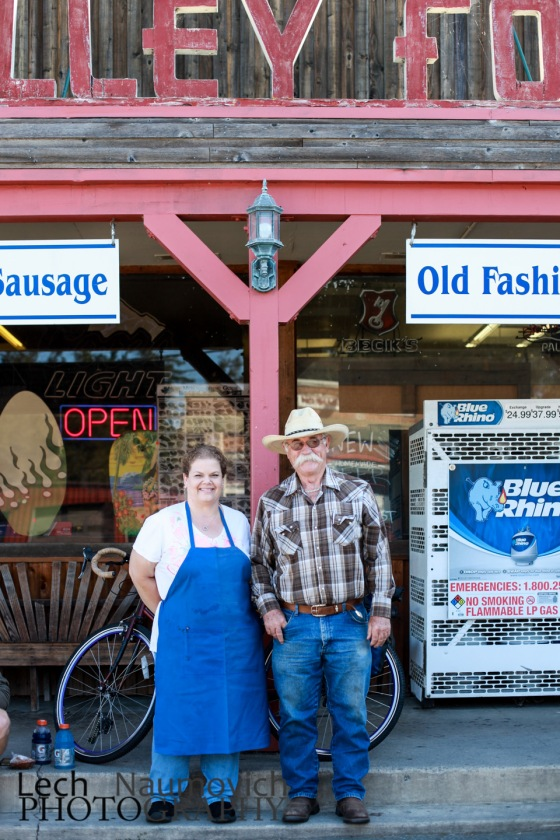 Walt and Kim have a heaven sent store in Valley Ford stocked with all the goodies you need when traveling locally.  They've been running this store for generations.