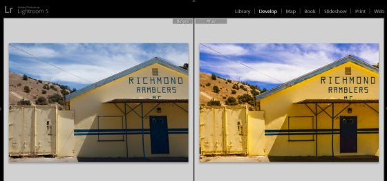 Richmond Ramblers before and after screen grab