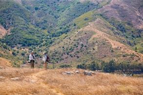 Stu and Larry on NE ridge sml